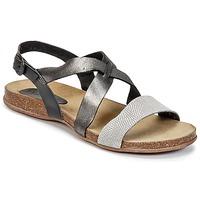 Chaussures Femme Sandales et Nu-pieds Kickers ANADAY Noir / Gris