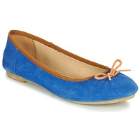 Chaussures Femme Ballerines / babies Kickers BAIE Bleu / Orange
