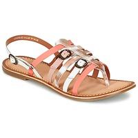 Chaussures Femme Sandales et Nu-pieds Kickers DIXMILLE Argenté / Rose / Blanc