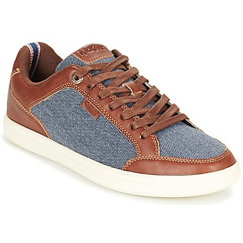 Chaussures Homme Baskets basses Kickers AART HEMP Marron / Bleu