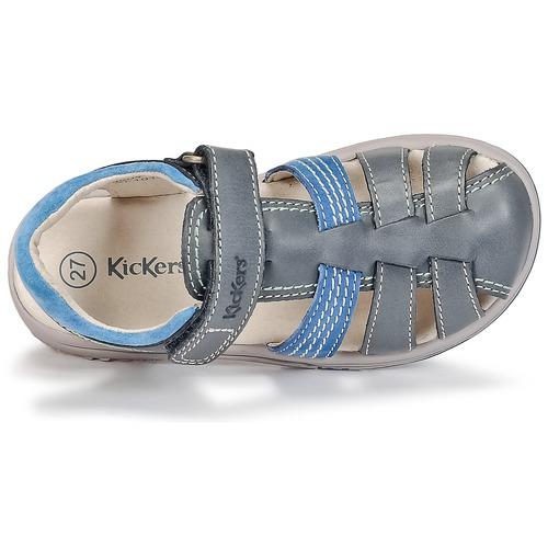 Kickers PLATINIUM Bleu foncé / Bleu