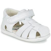 Chaussures Garçon Sandales et Nu-pieds Pablosky NETROLE Blanc