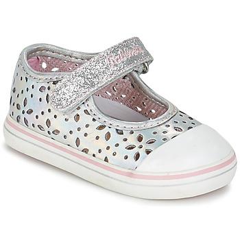 Chaussures Air max tnFille Ballerines / babies Pablosky MEZINILE Argenté
