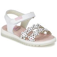 Chaussures Air max tnFille Sandales et Nu-pieds Pablosky COULOIME Blanc