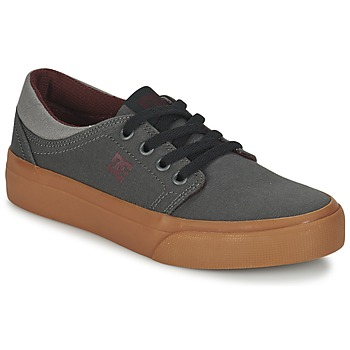 Chaussures Enfant Baskets basses DC Shoes TRASE TX B SHOE XSSR Gris / Rouge