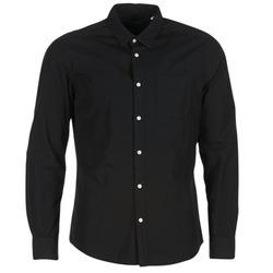 Vêtements Homme Chemises manches longues Esprit FOVETTIO Noir