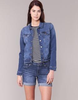Vêtements Femme Vestes en jean Esprit CROVETTA Bleu Médium