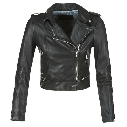 Vêtements Femme Vestes en cuir / synthétiques Oakwood YOKO Noir