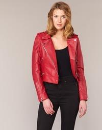 Vêtements Femme Vestes en cuir / synthétiques Oakwood YOKO Rouge