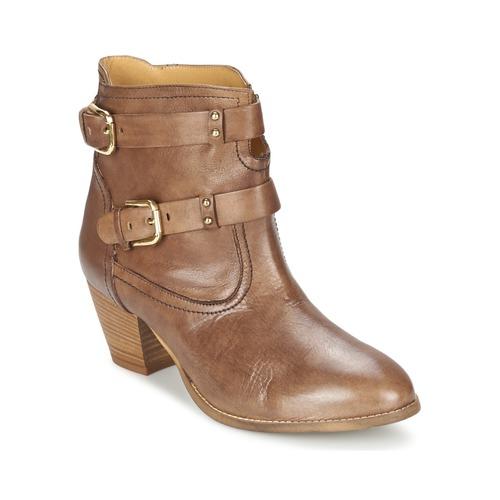 Chaussures Femme Bottines Casual Attitude SANOU Marron