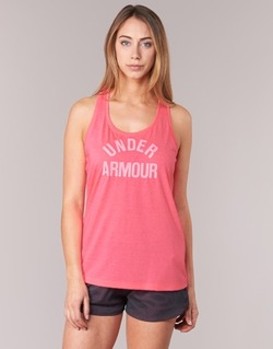 Vêtements Femme Débardeurs / T-shirts sans manche Under Armour THREADBORNET TWIST GRAPHIC Rose