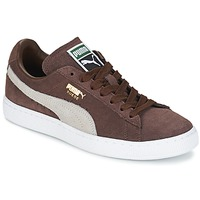 Chaussures Baskets basses Puma SUEDE.BROWN/SESAME Marron