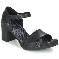 Chaussures Femme Sandales et Nu-pieds Art CANNES Noir