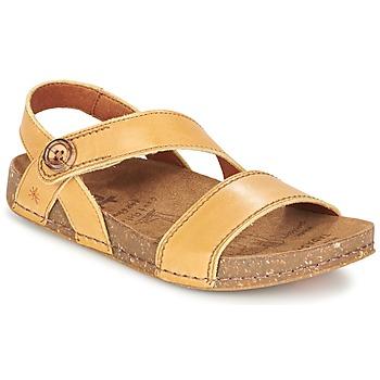 Chaussures Femme Sandales et Nu-pieds Art WE WALK Camel