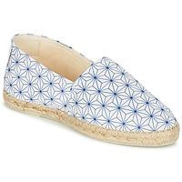 Chaussures Femme Espadrilles Maiett ASANOHA Bleu / Blanc