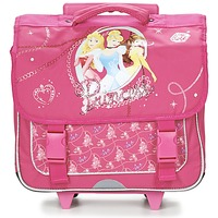 Sacs Fille Sacs / Cartables à roulettes Disney PRINCESSES CARTABLE TROLLEY 38CM Rose