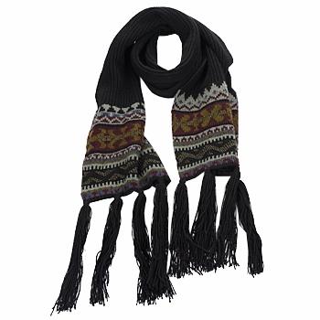 Accessoires textile Femme Echarpes / Etoles / Foulards Essentiel ZILE Noir / Kaki