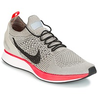 Chaussures Air max tnFemme Baskets basses Nike AIR ZOOM MARIAH FLYKNIT RACER PREMIUM W Gris / Rose