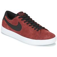 Chaussures Air max tnHomme Baskets basses Nike BLAZER VAPOR LOW SB Bordeaux / Blanc