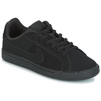Chaussures Air max tnEnfant Baskets basses Nike COURT ROYALE GRADE SCHOOL Noir