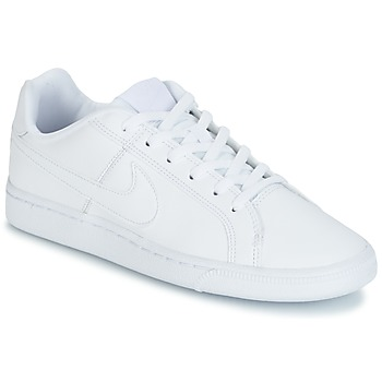 Chaussures Air max tnEnfant Baskets basses Nike COURT ROYALE GRADE SCHOOL Blanc