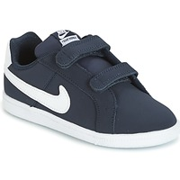 Chaussures Enfant Baskets basses Nike COURT ROYALE TODDLER Bleu / Blanc