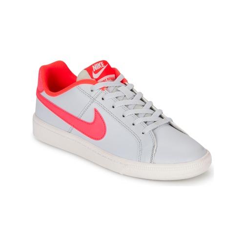 Nike COURT ROYALE GRADE SCHOOL Gris / Rose