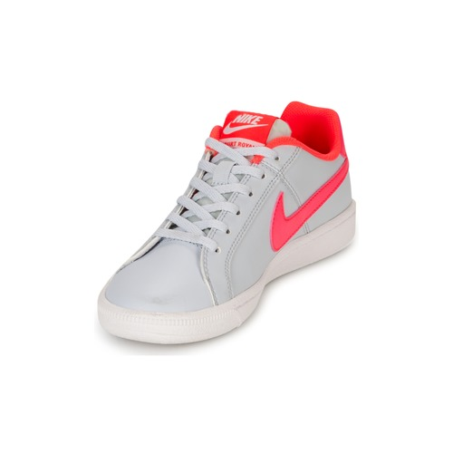... Nike COURT ROYALE GRADE SCHOOL Gris / Rose ...