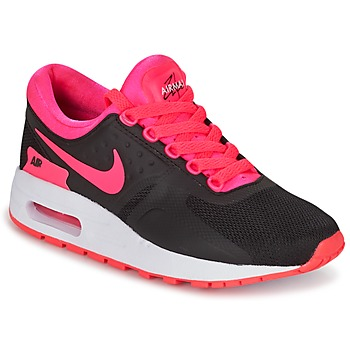 Chaussures Air max tnFille Baskets basses Nike AIR MAX ZERO ESSENTIAL GRADE SCHOOL Noir / Rose