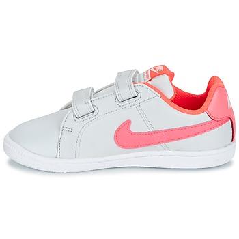 Nike COURT ROYALE TODDLER Gris / Rose