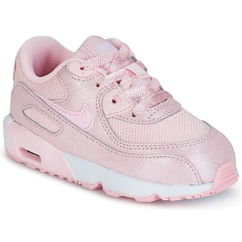Chaussures Fille Baskets basses Nike AIR MAX 90 MESH SE TODDLER Rose