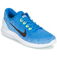 Chaussures Homme Running / trail Nike LUNARGLIDE 9 Bleu