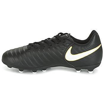 ... Nike TIEMPO RIO IV FG JUNIOR Noir / Blanc ...