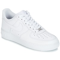 Chaussures Air max tnHomme Baskets basses Nike AIR FORCE 1 07 Blanc