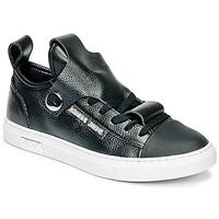 Chaussures Air max tnFemme Baskets basses Armani jeans RATONE Noir