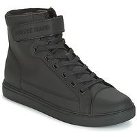 Chaussures Air max tnHomme Baskets montantes Armani jeans JEFEM Noir