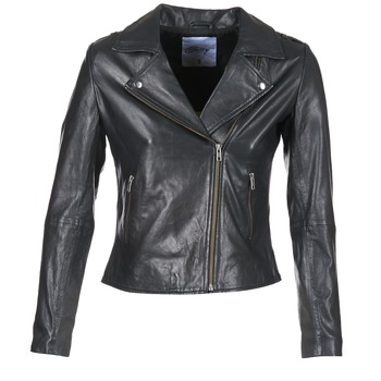 Vêtements Femme Vestes en cuir / synthétiques Betty London GADITE Noir