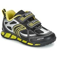 Chaussures Garçon Baskets basses Geox J SHUTTLE B. A Noir / Jaune
