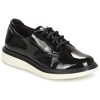 Chaussures Fille Derbies Geox J THYMAR G. B Noir