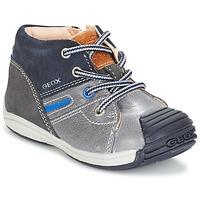 Chaussures Garçon Baskets montantes Geox B TOLEDO B. A Gris / Marine