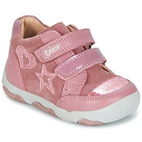 Chaussures Fille Baskets basses Geox B N.BALU' G. C Rose