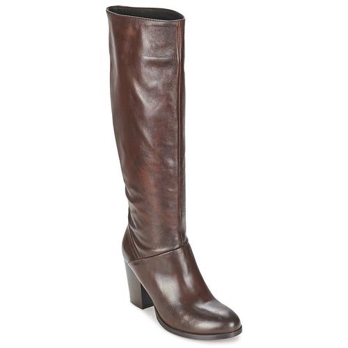 Chaussures Femme Bottes ville Betty London MIRIDIA Marron