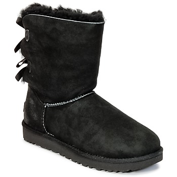 Chaussures Femme Boots UGG BAILEY BOW II Noir