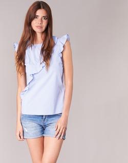 Vêtements Femme Tops / Blouses Morgan MARFIZ Bleu / Blanc