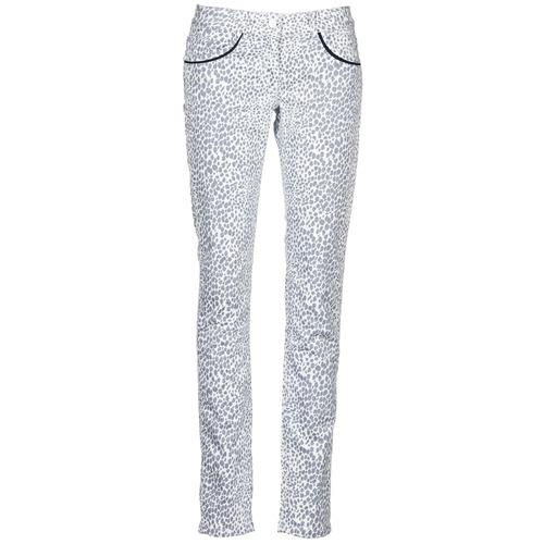 Vêtements Femme Pantalons 5 poches Kookaï FEMIE Beige / Noir