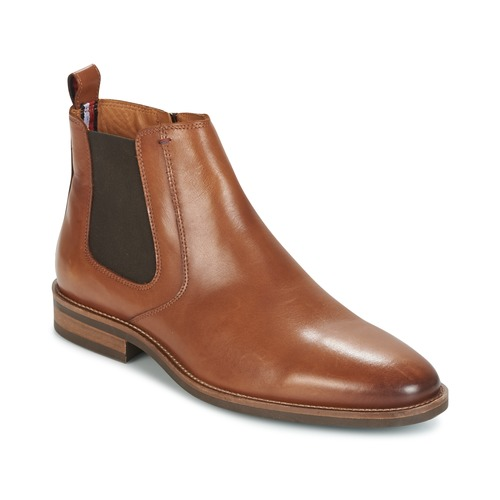 Chaussures Homme Boots Tommy Hilfiger DAYTONA 4A Cognac