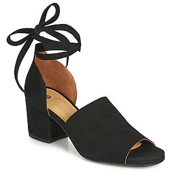 Chaussures Femme Sandales et Nu-pieds Hudson METTA Noir