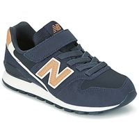 Chaussures Enfant Baskets basses New Balance KV996 Marine / Blanc