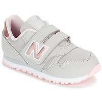 Chaussures Fille Baskets basses New Balance KV373 Gris / Rose