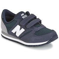 Chaussures Enfant Baskets basses New Balance KE421 Marine / Gris